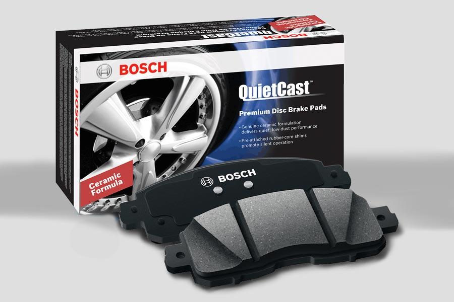 Chegaram as Pastilhas de Freio Premium Bosch