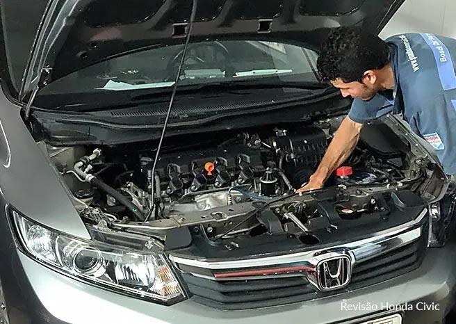 Revisão Honda Civic